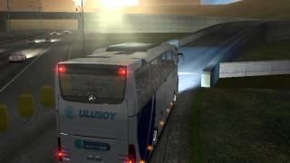 Mercedes Benz Travego ile Ankara  Otogar