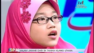 getlinkyoutube.com-SPM- PERSEMBAHAN KALAM JAMAIE DARI SK TAMAN KLANG UTAMA [23 NOV 2015]