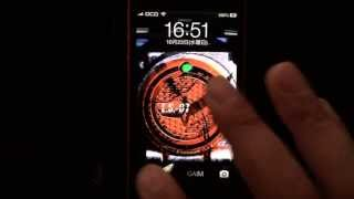 getlinkyoutube.com-iPhone用テーマ 仮面ライダーガイム6 オレンジアームズ G01 Ver.6.9
