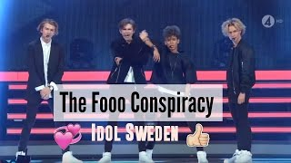 The Fooo Conspiracy Idol Sweden (Sverige) 2015 Perform Jimi hendrix LIVE
