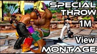 getlinkyoutube.com-Tekken Tag Tournament 2 | Special Throw Montage
