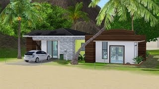 getlinkyoutube.com-Sims 3 House Building - Green Aura