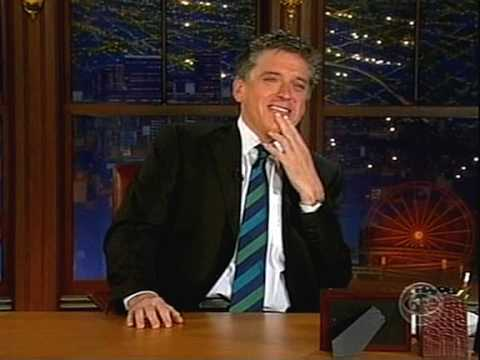 Craig Ferguson Laughs at His Awesome Job