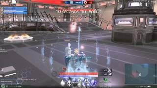 getlinkyoutube.com-Skyforge 3v3 Arena.  Damage potential of the kinetic.