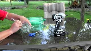 getlinkyoutube.com-DIY 2 Liter Bottle Chicken Waterer