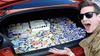 getlinkyoutube.com-Donating 20,000+ Pokemon Cards To Children