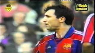 getlinkyoutube.com-100 Golden goals of Hristo Stoichkov for Barcelona part 2 *HD*