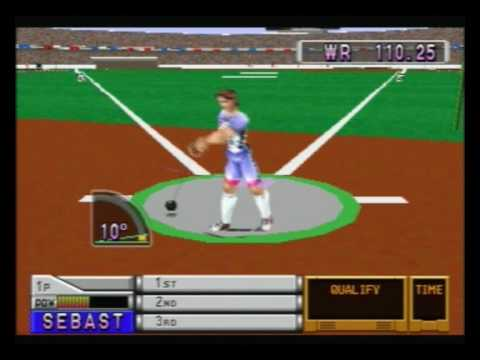 International Track and Field 1 - PSone - Hammer - 110,25m
