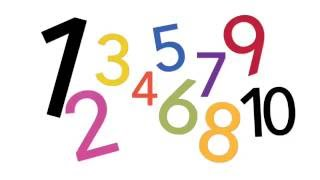 Count and Spell from 1 to 10 | Learn to Count and Spell