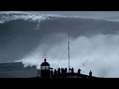 Novo record da maior onda surfada na Nazaré?