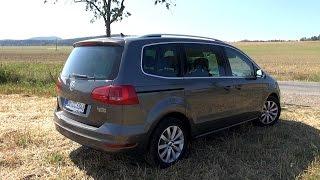 getlinkyoutube.com-2015 VW Sharan 2.0 TDI 4Motion (140 HP) Test Drive