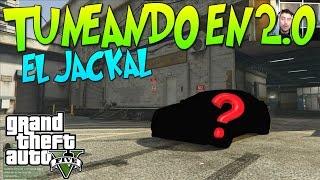 """getlinkyoutube.com-GTA 5 TUNEANDO EN 2.0 """"EL JACKAL"""" UN COCHE DESCONOCIDO PERO MOLA! xFaRgAnx"""