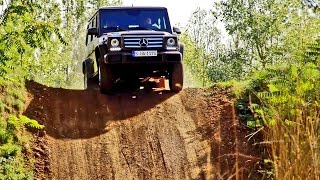 getlinkyoutube.com-► 2016 Mercedes G-Class (G500) Off-Road Test