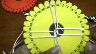 getlinkyoutube.com-Punto Básico Kumihimo   Video III