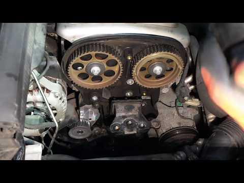 Opel Zafira,Astra,Corsa 1,6L(Z16YNG) Замена ремня ГРМ Replacing the belt