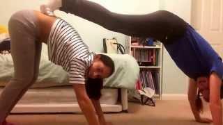 getlinkyoutube.com-Yoga challenge with chummy!!☺️