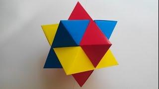 getlinkyoutube.com-Кусудама головоломка (Froy), Kusudama puzzle.