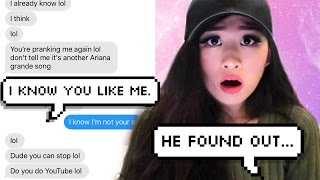 getlinkyoutube.com-Pranking my CRUSH with Ariana Grande's 'Just A Little Bit Of Your Heart' Lyrics!!