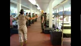 getlinkyoutube.com-Female Marine Drill Instructor vs Cadets
