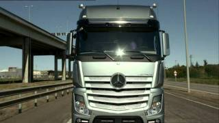 Mercedes Actros MP4 - prezentacja