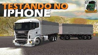 Grand Truck Simulator - Testando no IPHONE (IOS)