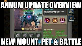 Taichi Panda | ANNUM UPDATE | New Pet, Mount, and Battlefield