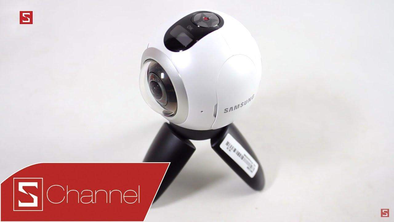 Mở hộp camera 360° Samsung Gear 360
