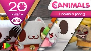 Canimals | Collection 18 (Canimals Food 3) | Full episodes for kids | 20 minutes