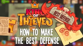 getlinkyoutube.com-King of Thieves: How to Make The Best Defense For Your Dungeon