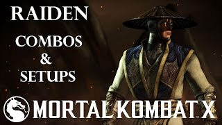 getlinkyoutube.com-MKX - Raiden Combos & Setups (33%-108%)