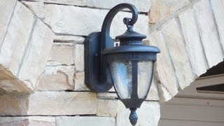 getlinkyoutube.com-Beautiful Outdoor Wall Sconces for House Plan. Home Depot. Home Building. Custom Homes.