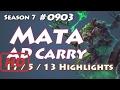 KT Mata - Twitch vs Ashe - KR LOL Highlights | 마타 트위치