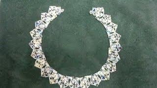 getlinkyoutube.com-Beading4perfectionists : 8mm Swarovski 2 rows necklace beginners tutorial (video version)