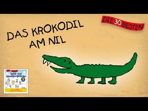 Das Krokodil am Nil - Die besten Spiel- und Bewegungslieder || Kinderlieder