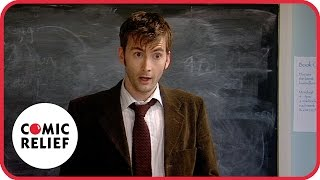Lauren Cooper and David Tennant | Comic Relief