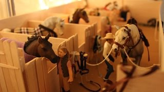 getlinkyoutube.com-*~~Schleich Barn Tour: November 2014 ~~*