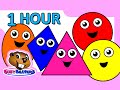 """Colors & Shapes DVD"" - 1 Hour, Super Simple Colours, Little Baby Songs, Kids Learn Nursery Rhymes"