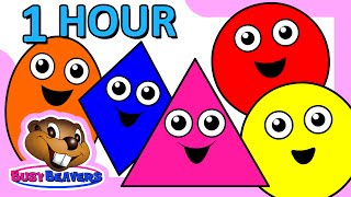 "getlinkyoutube.com-""Colors & Shapes DVD"" - 1 Hour, Super Simple Colours, Little Baby Songs, Kids Learn Nursery Rhymes"