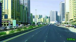 Ajman To Dubai Union Bus Station Tour By Bus ( United Arab Emirates )