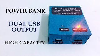 getlinkyoutube.com-How to make Power Bank at home for mobile