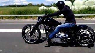 getlinkyoutube.com-Harley Davidson Breakout FXSB Softail Custom Best Umbau