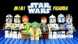 getlinkyoutube.com-LEGO Star Wars III: The Clone Wars KnockOff Minifigures Set 1 (Bootleg)