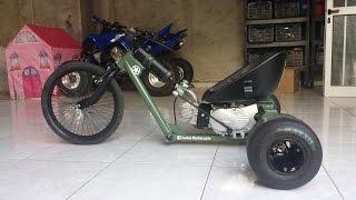 Motorised Drift Trike with lifan 110cc