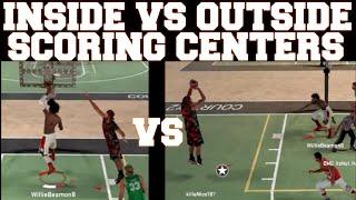getlinkyoutube.com-NBA 2K16 MyPark - Inside vs Outside Centers (Which is Better)