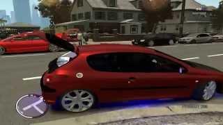 getlinkyoutube.com-Gta IV EFLC - Garagem cheia de carros com som automotivo
