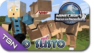 getlinkyoutube.com-Minecraft Parque dos Dinossauros 3 - EP 3 - O SUSTO