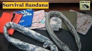 getlinkyoutube.com-Survival Bandana : 40 Uses