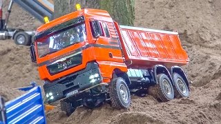 getlinkyoutube.com-RC Trucks and construction machines in ACTION! Mercedes-Benz & more!