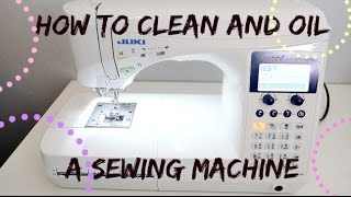 getlinkyoutube.com-HOW TO CLEAN A SEWING MACHINE