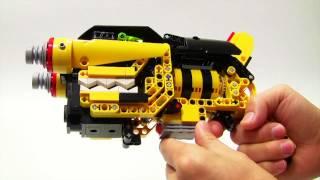 getlinkyoutube.com-レゴで作った「獣電戦隊キョウリュウジャー ガブリボルバー」